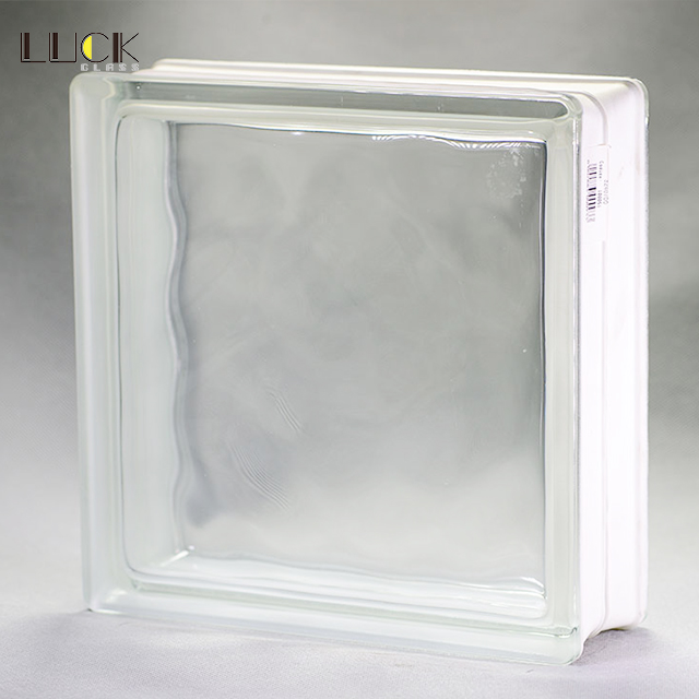 LUCK Good quality 190x190x80mm glass block for building decoration