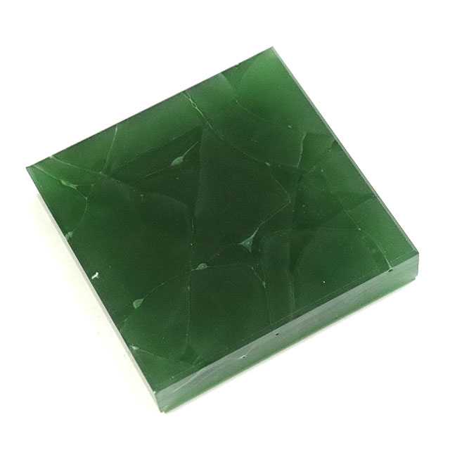 Luck 20mm TV background wall, bathroom wall, kitchen wall and other home decoration jade glass