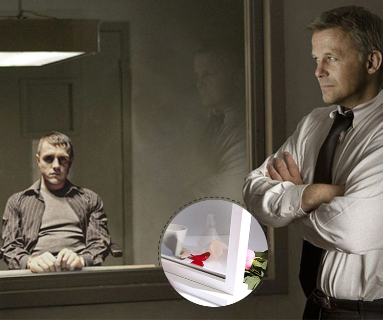 high quality two way mirror glass/one-way mirror glass for Interrogation room window
