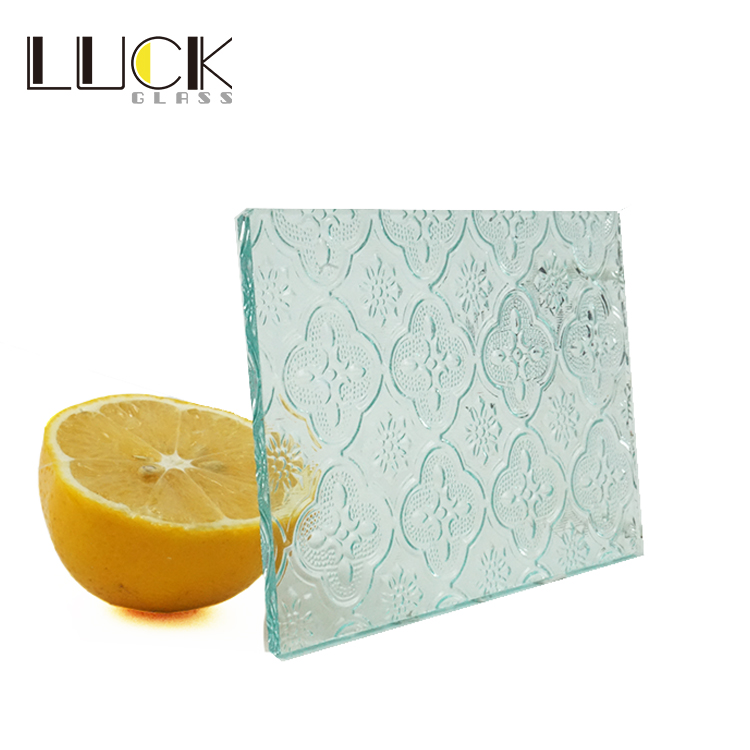 factory price patterned/figured glass for decoration