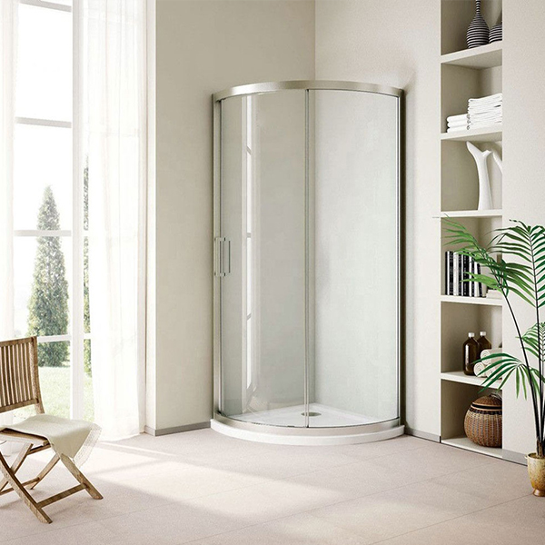 Wholesale 12mm Safety Shower Room Wall Customized Tempered Glass