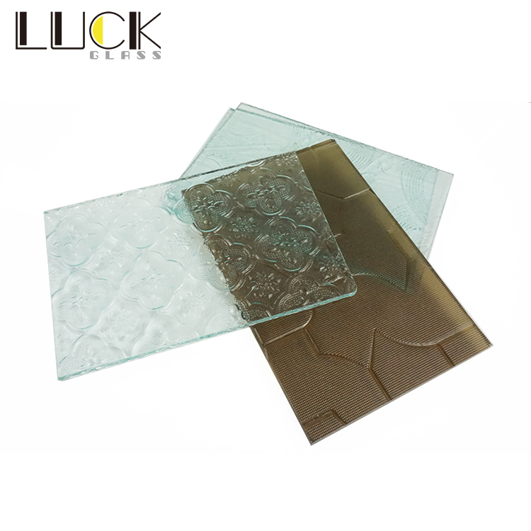 4mm Different Design Patterned Glass Price