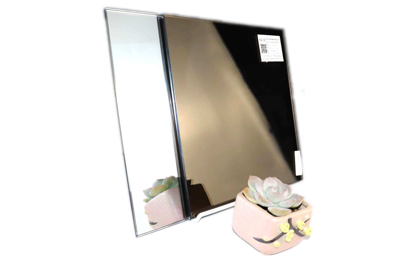 LUCK tempered bathroom mirror, full-length mirror glass