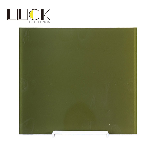 Kitchen cabinet tempered glass