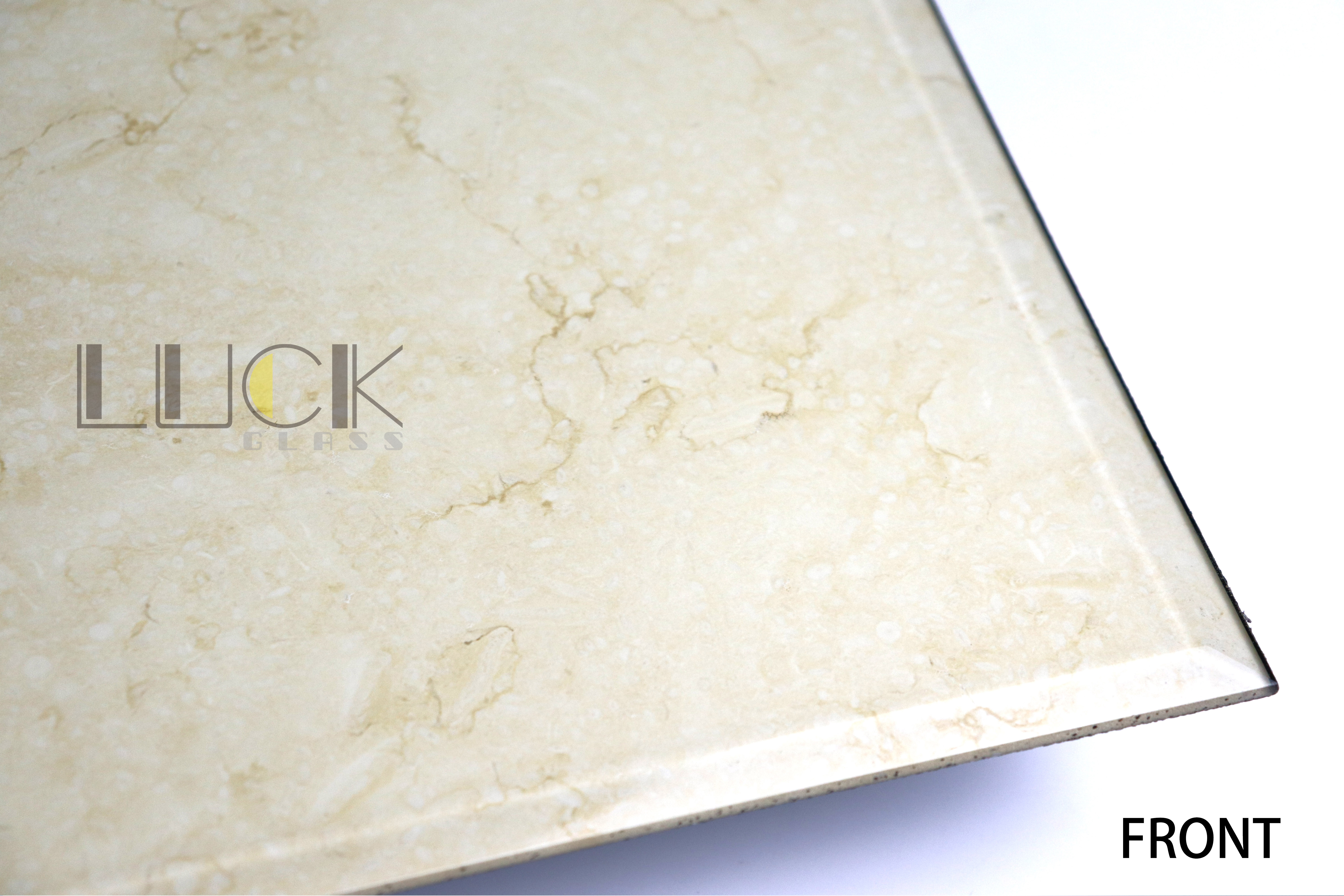 Environmentally friendly and dirty marble tabletop glass