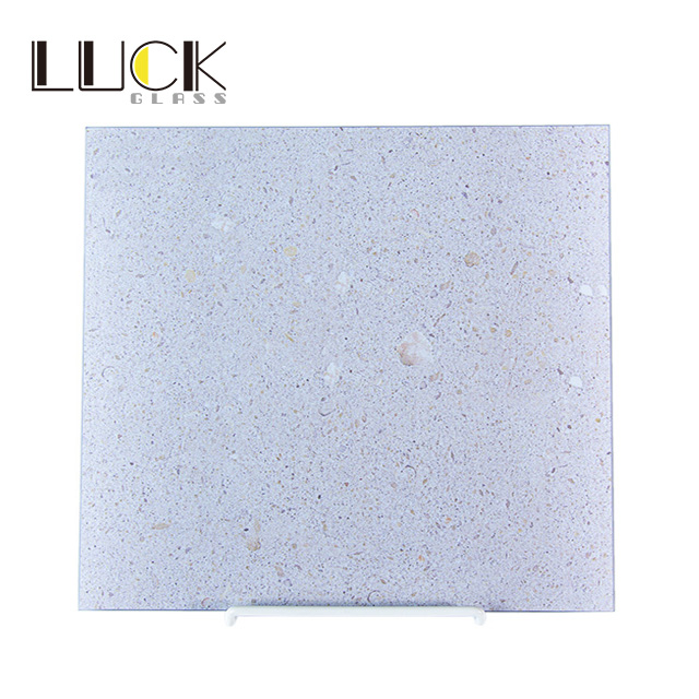 Enamelled Tempered Glass