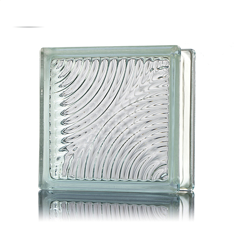 Decorative Modern Waterproof Crystal Glass Block with good price